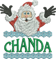 Surprise Santa Name - Chanda
