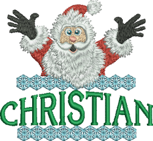 Surprise Santa Name - Christian