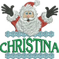 Surprise Santa Name - Christina