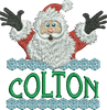 Surprise Santa Name - Colton