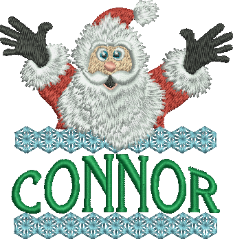 Surprise Santa Name - Connor