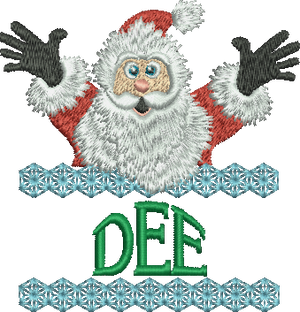 Surprise Santa Name - Dee