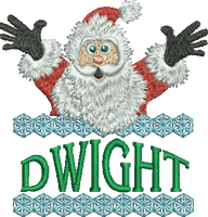 Surprise Santa Name - Dwight