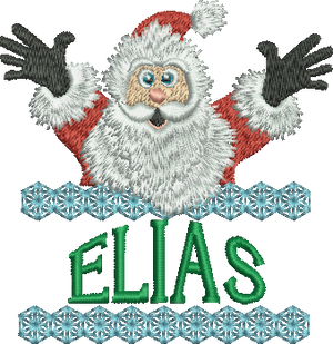 Surprise Santa Name - Elias