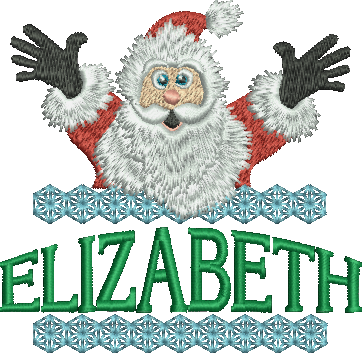 Surprise Santa Name - Elizabeth