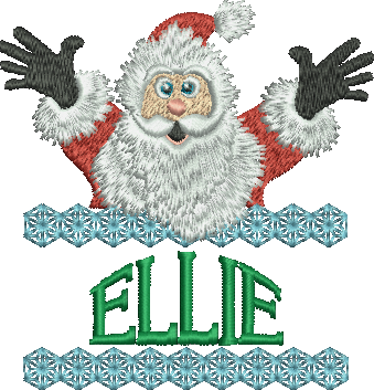 Surprise Santa Name - Ellie