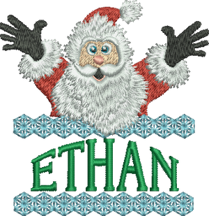Surprise Santa Name - Ethan