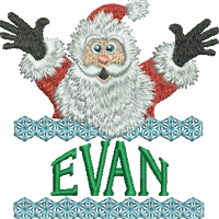 Surprise Santa Name - Evan