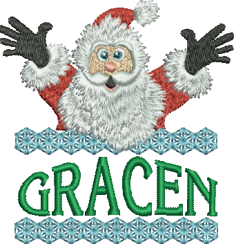 Surprise Santa Name - Gracen
