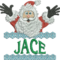 Surprise Santa Name - Jace