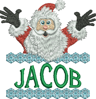 Surprise Santa Name - Jacob