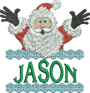 Surprise Santa Name - Jason