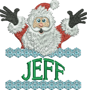 Surprise Santa Name - Jeff