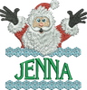 Surprise Santa Name - Jenna