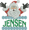 Surprise Santa Name - Jensen