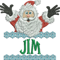 Surprise Santa Name - Jim