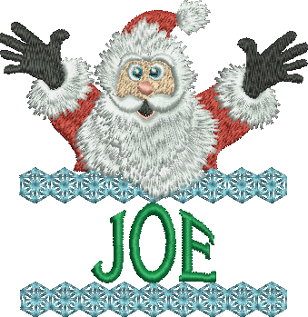 Surprise Santa Name - Joe