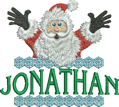 Surprise Santa Name - Jonathan