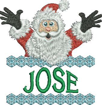 Surprise Santa Name - Jose