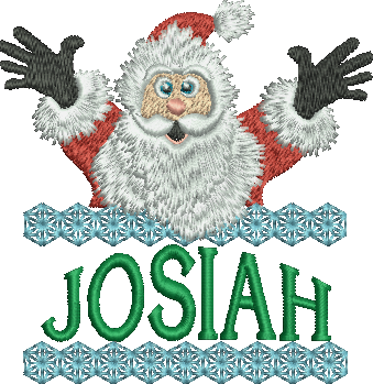 Surprise Santa Name - Josiah