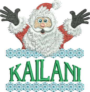 Surprise Santa Name - Kailani