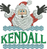 Surprise Santa Name - Kendall