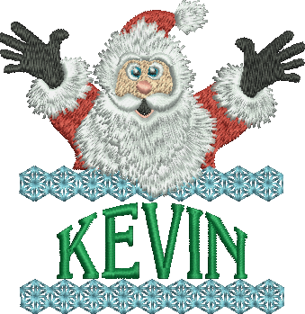 Surprise Santa Name - Kevin