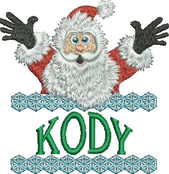Surprise Santa Name - Kody