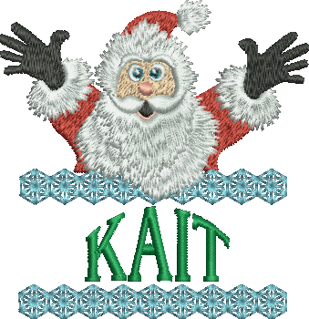 Surprise Santa Name - Kait