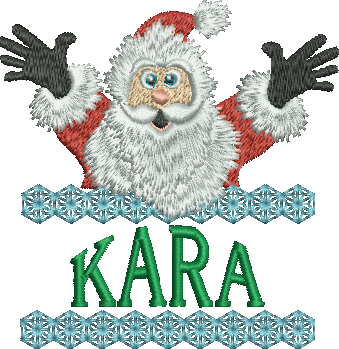 Surprise Santa Name - Kara