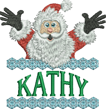 Surprise Santa Name - Kathy