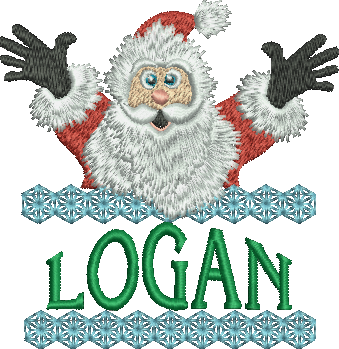 Surprise Santa Name - Logan