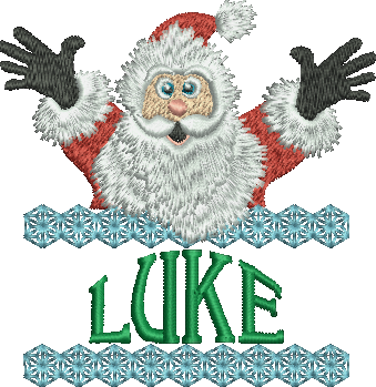 Surprise Santa Name - Luke