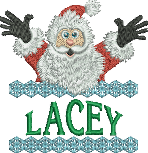 Surprise Santa Name - Lacey