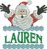 Surprise Santa Name - Lauren