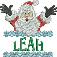 Surprise Santa Name - Leah