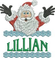 Surprise Santa Name - Lillian