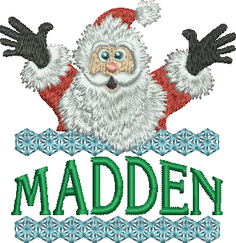 Surprise Santa Name - Madden