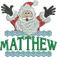 Surprise Santa Name - Matthew