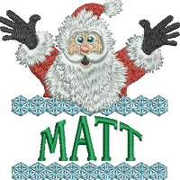 Surprise Santa Name - Matt