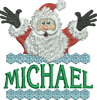 Surprise Santa Name - Michael