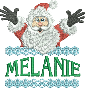 Surprise Santa Name - Melanie