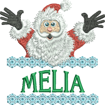 Surprise Santa Name - Melia