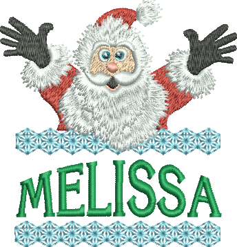 Surprise Santa Name - Melissa