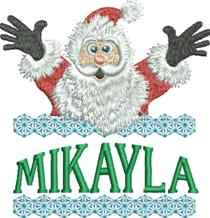 Surprise Santa Name - Mikayla