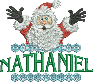 Surprise Santa Name - Nathaniel