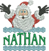 Surprise Santa Name - Nathan
