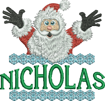 Surprise Santa Name - Nicholas