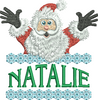 Surprise Santa Name - Natalie