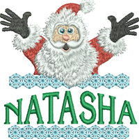 Surprise Santa Name - Natasha